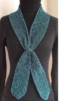 Teal Neck Lace